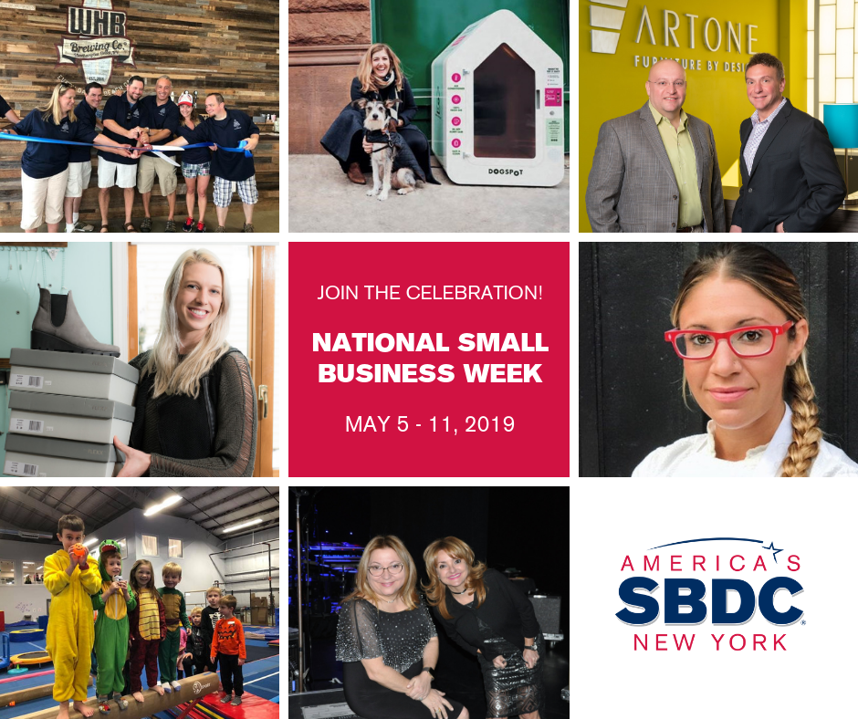Join the Celebration! National Small Business Week, May 5-11, 2019