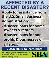 SBA disaster loan program